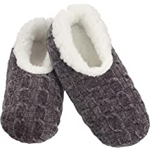 Ladies Snoozies Christmas Cameo Sherpa Fleece Lined Slipper Foot Coverings