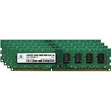Memory Upgrade for ASUS P8P67-M DDR3 1333 PC3-10600 DIMM 2Rx8 CL9 1.5v RAM 2x8GB Adamanta 16GB