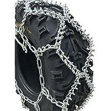 PAIR for 2 tires V-Bar Reinforced Diamond Pattern ATV Traction Chain ICC ATV2