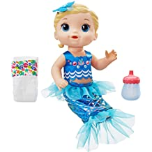 with Tail and Hood Baby Alive Inspired by Hit Baby Shark Blonde Hair Doll