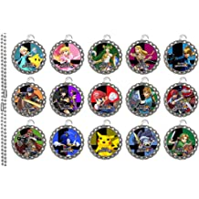 40PCS 1inch//25cm Shapenty 1inch//25cm Clear Round Epoxy Resin Dome Stickers Circles Dots for Bottle Cap Pendant Necklace Magnets Jewelry Art Craft Hair Bows Scrapbooking Card Making