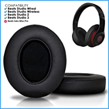 9a11660ae95 Wicked Cushions Upgraded Beats Replacement Ear Pads - Compatible with  Studio Wired B0500 / Wireless B0501 / Studio 2 and Studio 3 Over Ear .