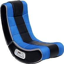 X Rocker Hydra Red 2.0 Floor Rocker Gaming Chair Electronic Games