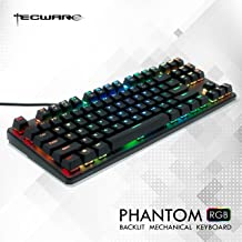 3142ee849e2 Tecware Phantom 87 Key Mechanical Keyboard, RGB led, Outemu Brown Switch