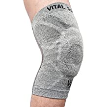 d64cf80e79 Vital Salveo Breathable Compression Sports Knee Brace/Support, Pain Relief,  Speeds Recovery, Protects Joint, Knee Sleeve Train Tec S ..
