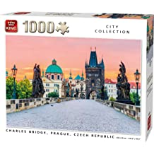 68x49 cm KING 55852 Night View of Trevi Fountain Rome Jigsaw Puzzle 1000-Piece Full Colour