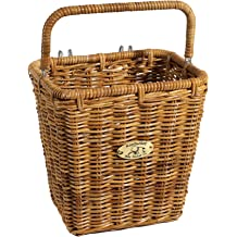 "Pannier Basket With Hooks Nantucket Bicycle Basket Co.13/"" Length x 9.5/"" Width"