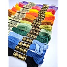 DMC 117F25-PK36  Embroidery Floss Pack 8.7yd-Variegated 36//Pkg