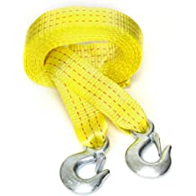 PROGRIP 101113 Emergency Towing Rope for Truck Auto and Marine with Hooks 14 x 5//8