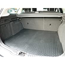 Deluxe Black with Black Trim Connected Essentials CEM500 Car Mat Set for 3 2013-